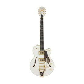 Gretsch G6659TG-VWH Players Edition Broadkaster Jr Centre Block SC w/Bigsby, Ebony FB, Vintage White