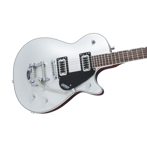 Gretsch G5230T Electromatic Jet FT Single Cut Electric Guitar w/Bigsby, Airline Silver