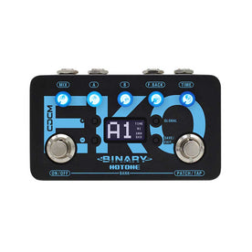 Hotone Binary Eko Delay Guitar Effects Pedal