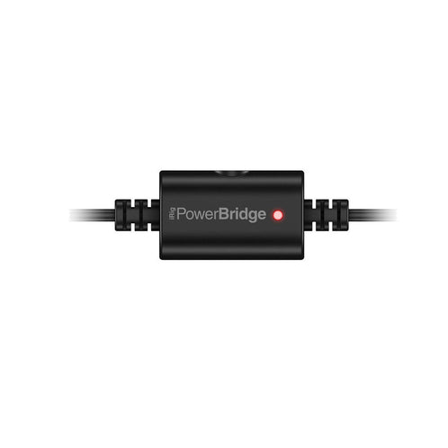 IK Multimedia iRig PowerBridge Charger (iPhone/iPod/iPad/iPod Touch), Lightning Version