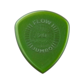 Jim Dunlop 547P2.0 Flow Jumbo Grip Guitar Picks, Pack of 3