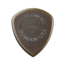 Jim Dunlop 549P2.0 Flow Standard Grip Picks, Pack of 6