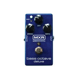 MXR M288 Bass Octave Deluxe Guitar Effects Pedal