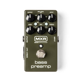MXR M81 Bass Preamp Guitar Effects Pedal