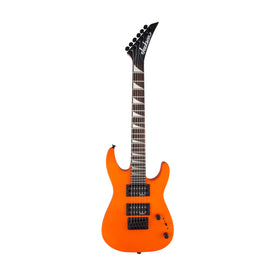 Jackson JS Series Dinky Minion JS1X Electric Guitar, Amaranth FB, Neon Orange