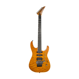Jackson Pro Series Soloist SL3Q MAH Electric Guitar, Ebony FB, Dark Amber