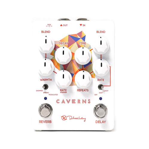 Keeley Caverns Delay & Reverb v2 Guitar Effects Pedal