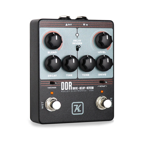 Keeley DDR-Drive Delay Reverb Guitar Effects Pedal