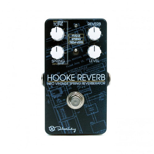 Keeley Hooke Spring Reverb Guitar Effects Pedal