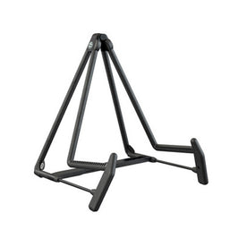 K&M 17580-014-55 Heli 2 Acoustic Guitar Stand, Black