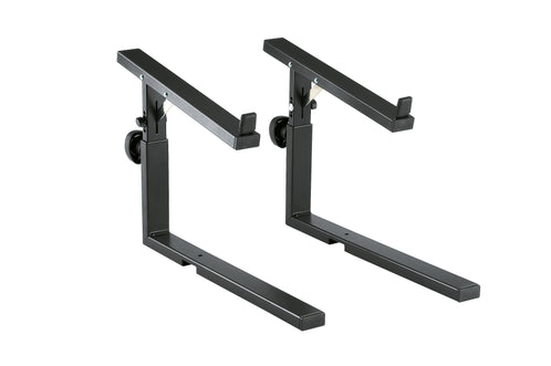 K&M 18813-011-55 Omega Keyboard Stand Stacker, Black