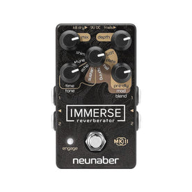 Neunaber Immerse Reverberator MKII Guitar Effects Pedal