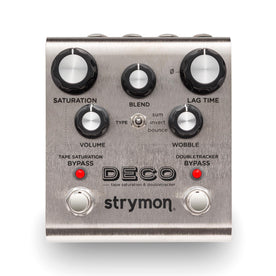 Strymon Deco Tape Saturation & Doubletracker Guitar Effects Pedal
