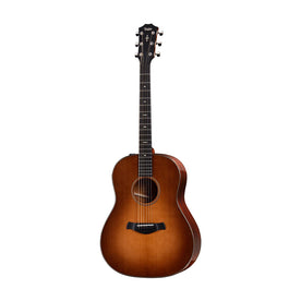 Taylor Builder's Edition 517e V-Class Grand Pacific Acoustic Guitar w/Case, Wild Honey Burst Top