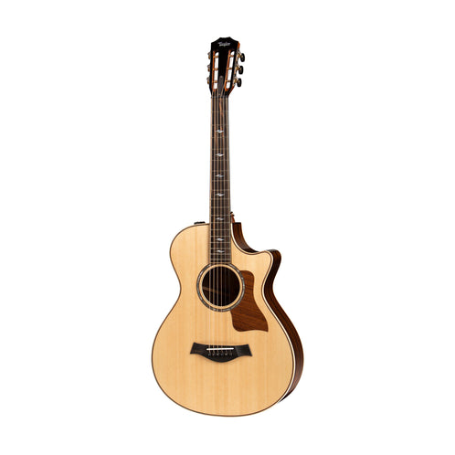 Taylor 812ce V-Class Grand Concert Acoustic Guitar, Natural