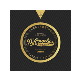 D'Angelico Electrozinc Strings, Rock 11-49 Plain Third String