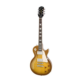 Epiphone Les Paul Standard PlusTop Pro Electric Guitar, RW Neck, Honey Burst