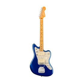 Fender American Ultra Jazzmaster Guitar, Maple FB, Cobra Blue