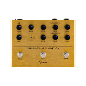Fender Dual Puglist Distortion Guitar Effects Pedal