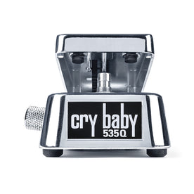 Jim Dunlop 535Q-C Cry Baby Multi-Wah Guitar Effects Pedal, Chrome