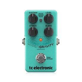 TC Electronic HyperGravity Compressor Guitar Effects Pedal