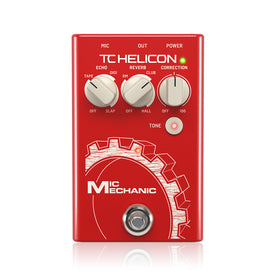 TC-Helicon Mic Mechanic 2 Vocal Effects Pedal