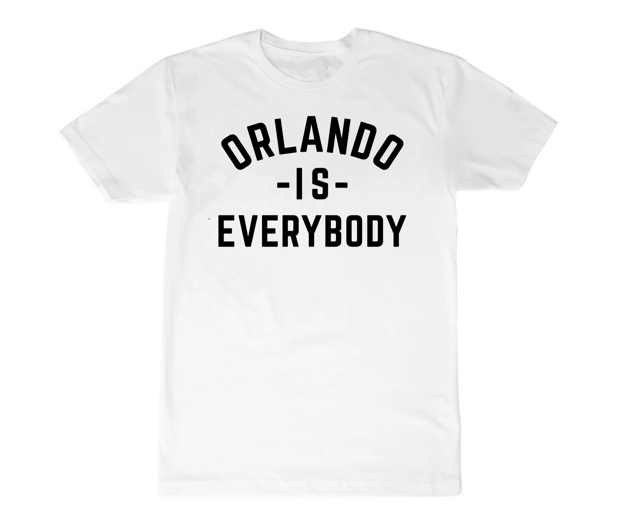 ORLANDO IS EVERYBODY - WHITE