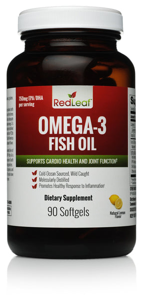 Red Leaf Omega-3 Premium Fish Oil - 1,400mg softgel - 90 servings