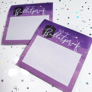We Are Bulletproof BTS Sticky Notes