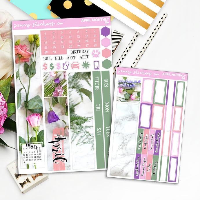 April 2020 | Print Pression B6 Monthly Kit