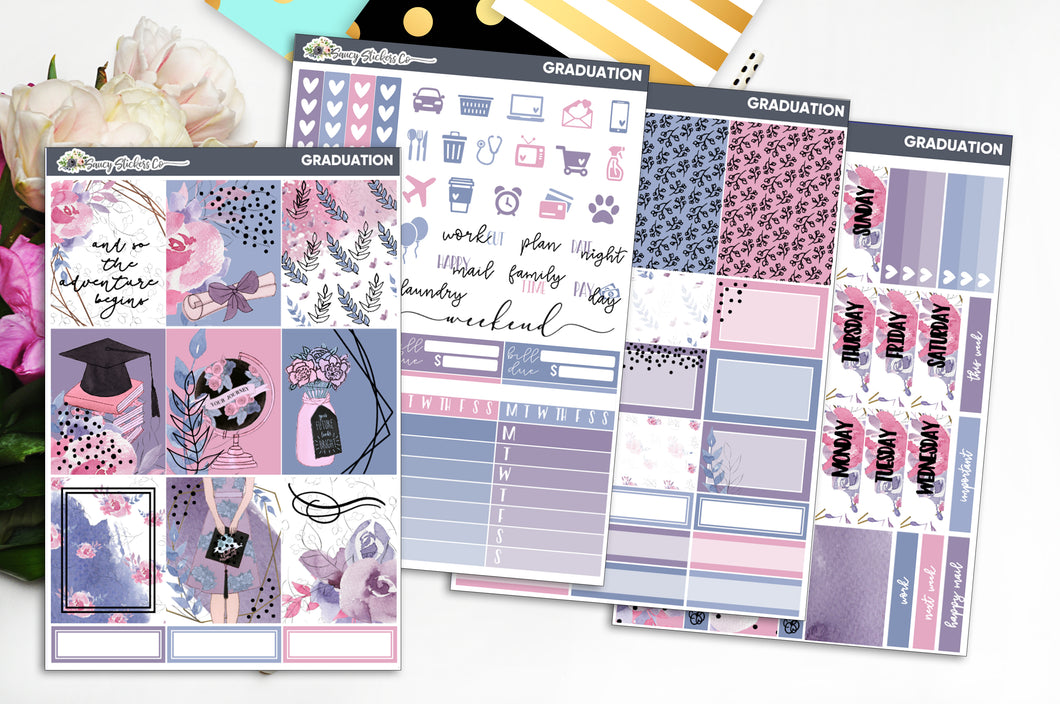 Graduation | FOILED Weekly Kit
