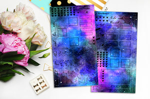 Foiled Galaxy - HO4 | Hobonichi Weeks Kit