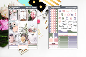 Precious Memories | Foiled Weekly Kit