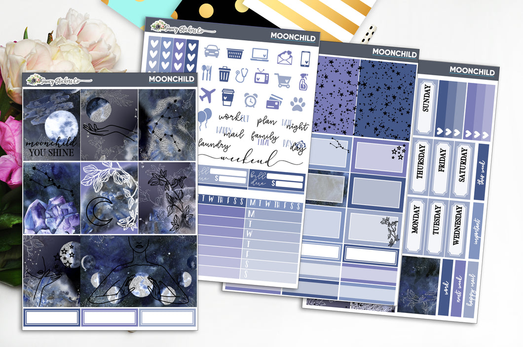 Moonchild | SILVER FOILED Weekly Kit
