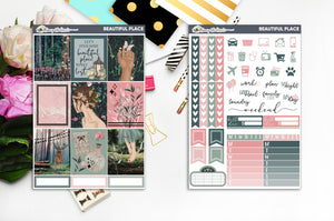 Beautiful Place | FOILED Weekly Kit