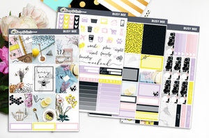 Busy Bee | Foiled Weekly Kit