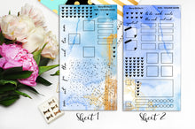 Load image into Gallery viewer, Foiled Golden Azure - HO8 | Hobonichi Weeks Kit