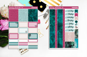 Paradise | Foiled Weekly Kit