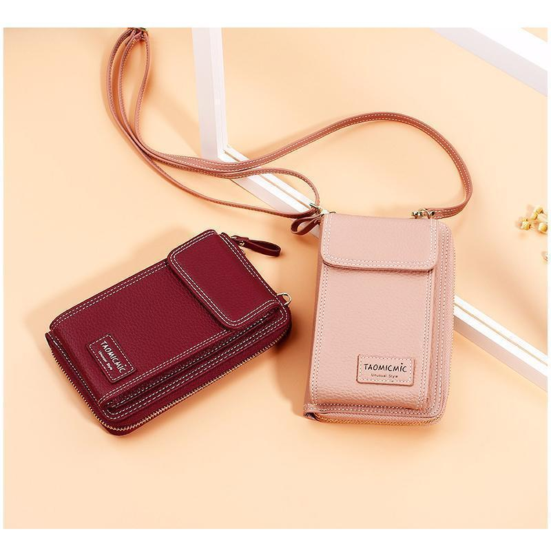 Fashion PU Leather Shoulder Bag, MINI Size