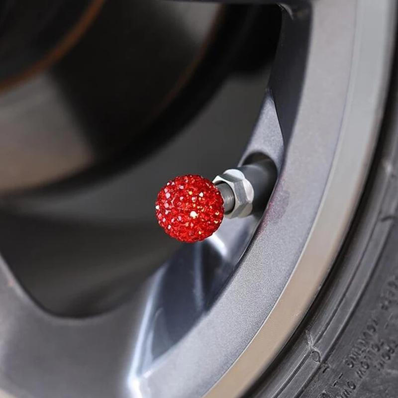 Diamond Universal Car Tire Air Sealing Cap(4 pieces)