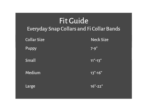 Collar Fit Guide