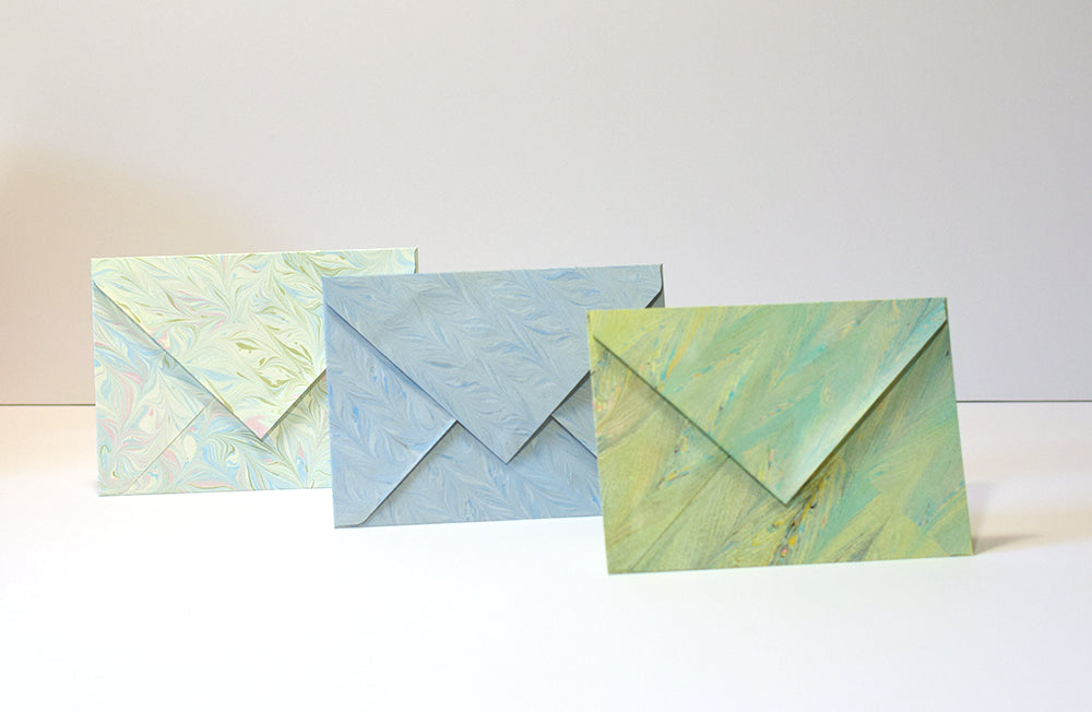 Marbled Envelopes - 2 pk