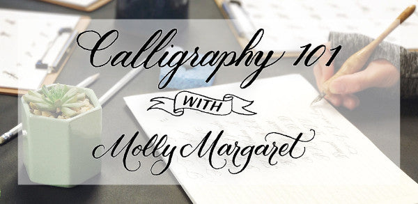 Calligraphy 101 Workshop - August 2020 Nashville, TN