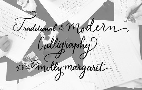 Calligraphy 101 Workshop - October 17, 2020 Nashville, TN