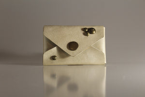 Champagne envelope card case