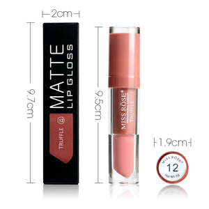 Miss Rose Liquid Lipstick Waterproof Long Lasting Lips Makeup Lipstick Matte Easy to Wear Nutritious