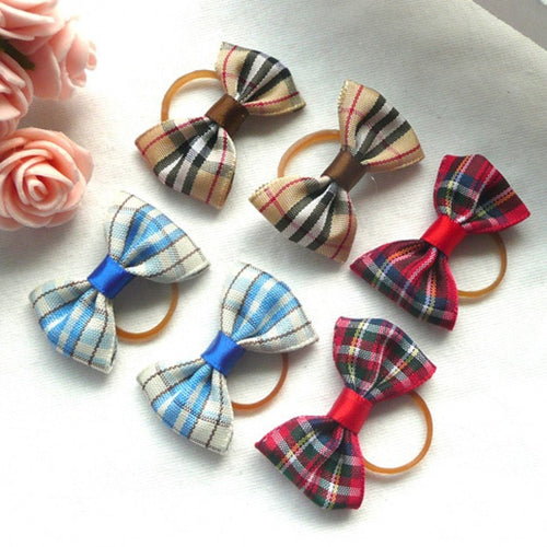 12pcs Cute Pet Dog Cat Beauty Supplies Bows Hairpin Pet Hair Clips Headdress Grooming Accessories