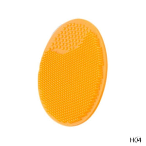 Soft Silicone Facial Cleansing Brush Face Washboards Exfoliating Blackhead Brush Remover Skin SPA Scrub Pad Tool