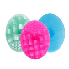 Load image into Gallery viewer, Soft Silicone Facial Cleansing Brush Face Washboards Exfoliating Blackhead Brush Remover Skin SPA Scrub Pad Tool