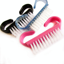 Load image into Gallery viewer, Shower/Bath Care 10 Stuk verkoop Nail Cleaning Clean Brush Tool File Manicure Pedicure Soft Verwijder Dust Kleine Hoek Clear Gereedschap Sets